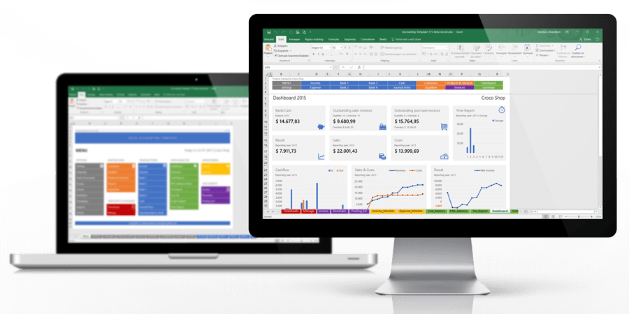 Excel Accounting Template The All In One Accounting Solution For